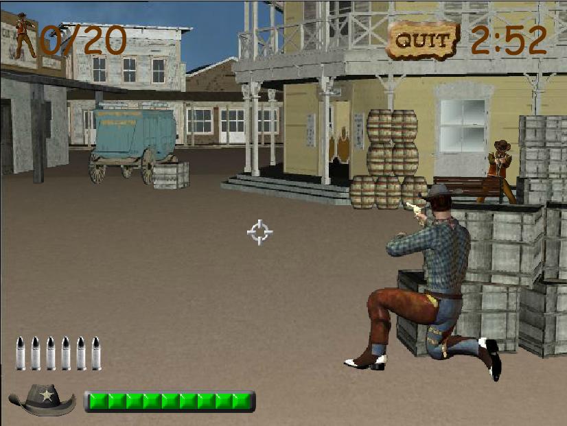 pistole spielen