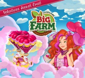Erlebe den Valentinstag in Big Farm!